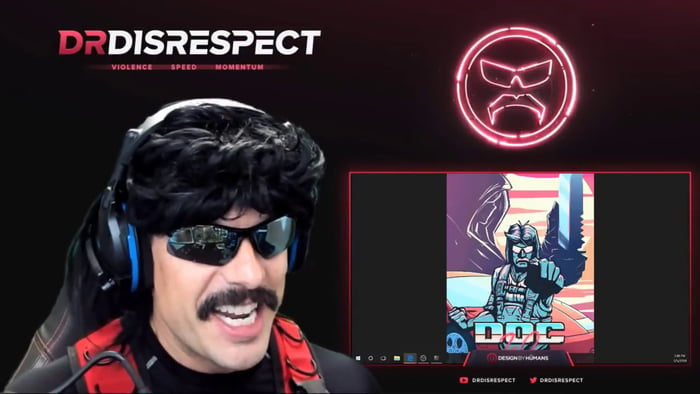 1 Minute of DrDisrespect being Himself