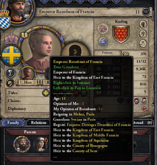 Hmmm intresting only in Crusader Kings 2 a pagan karling dwarf - 9GAG