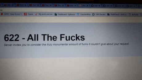 This error message...