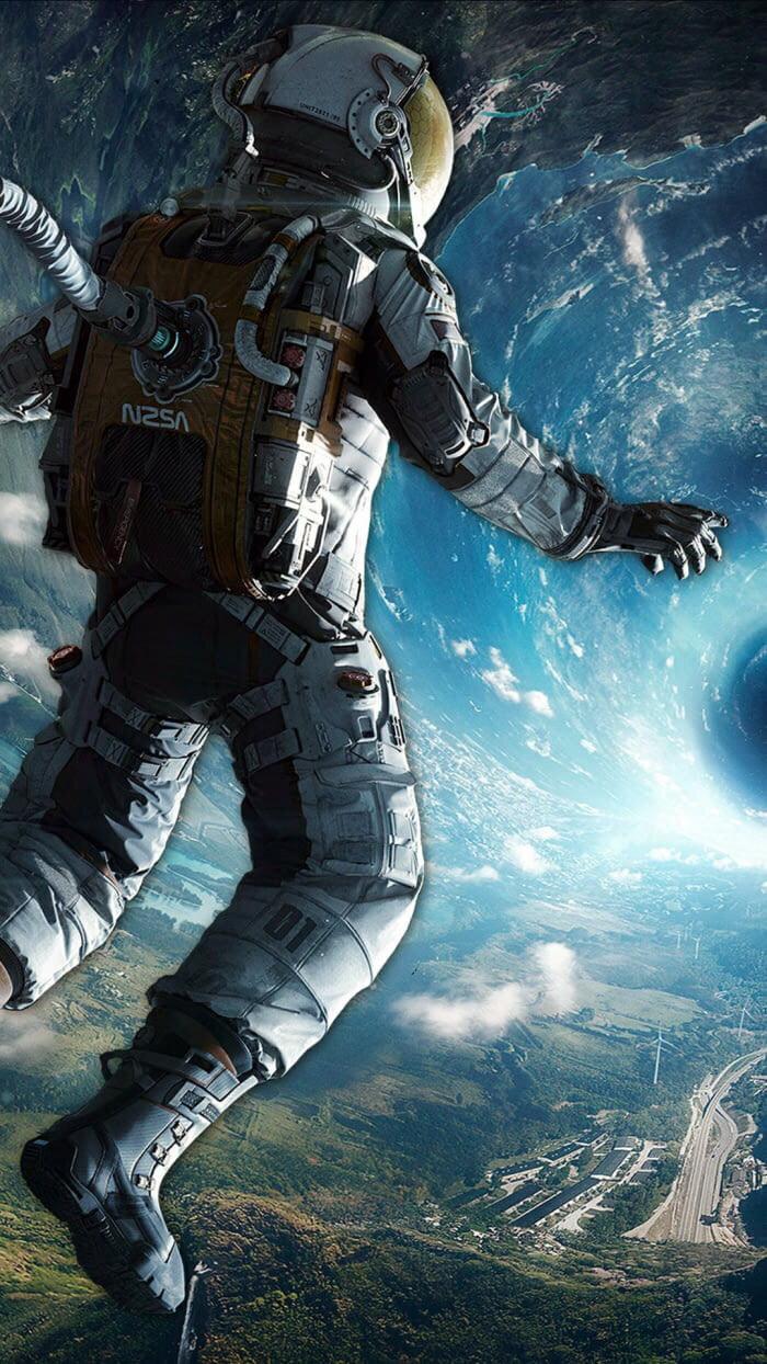 Cool Astronaut Wallpaper