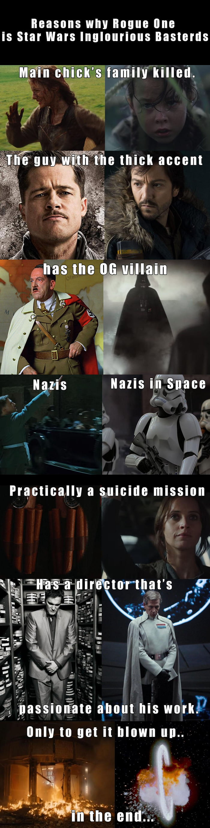 "The ""War"" in Star Wars, ain't that a bingo..."