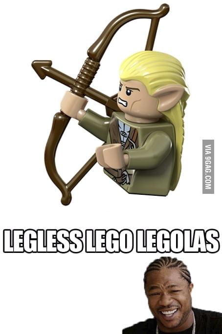 Legless Lego Legolas 9gag