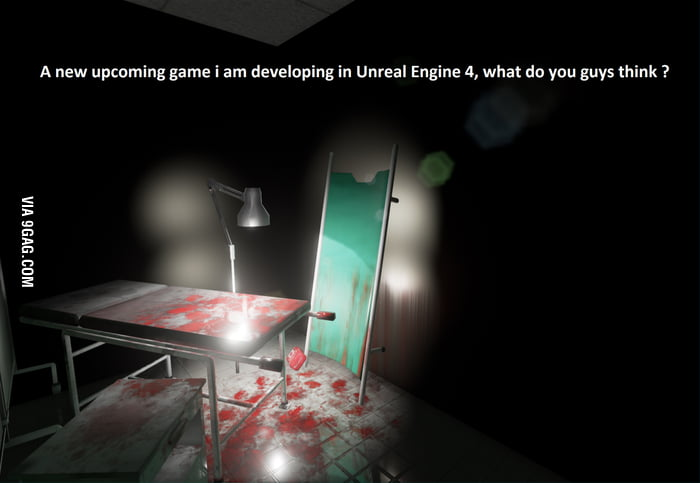 Upcoming Unreal Engine 4 Horror game :D, I hope you guys