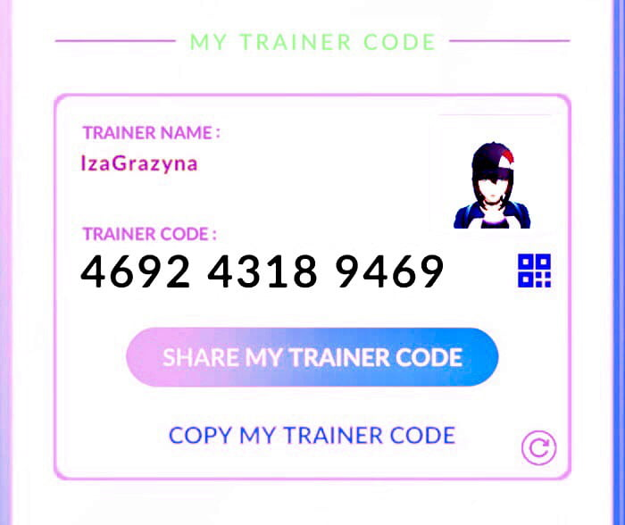 Add Pokemon go friends trainer code - 9GAG