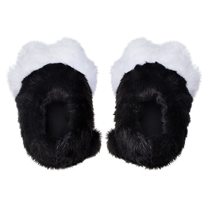 5e8d831b253 These Twitchy Kitty Slippers turn your feet into a pair of cat paws