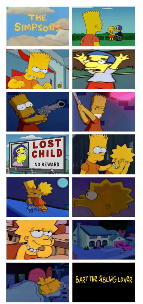 Bart e Lisa porno fumetto