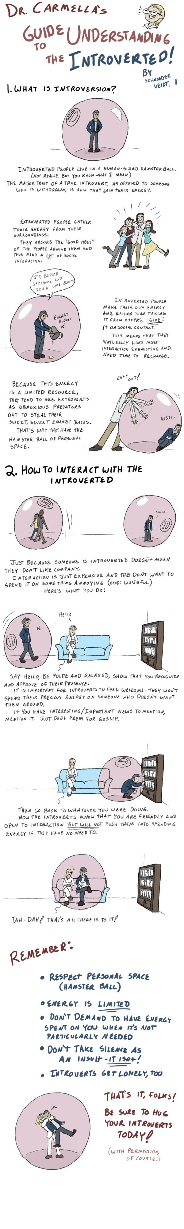 How to interact with introverts for dummies