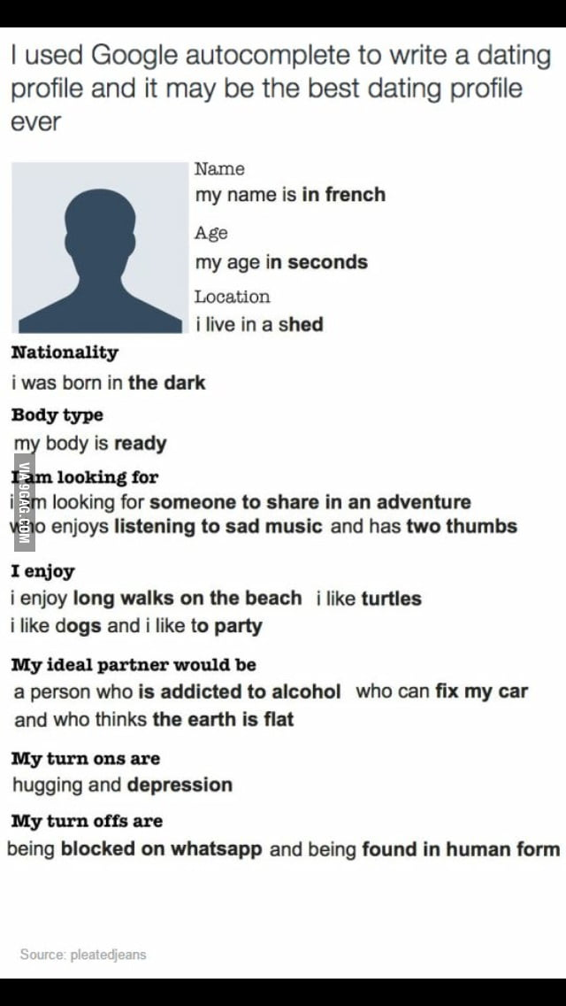 best dating site profile ever
