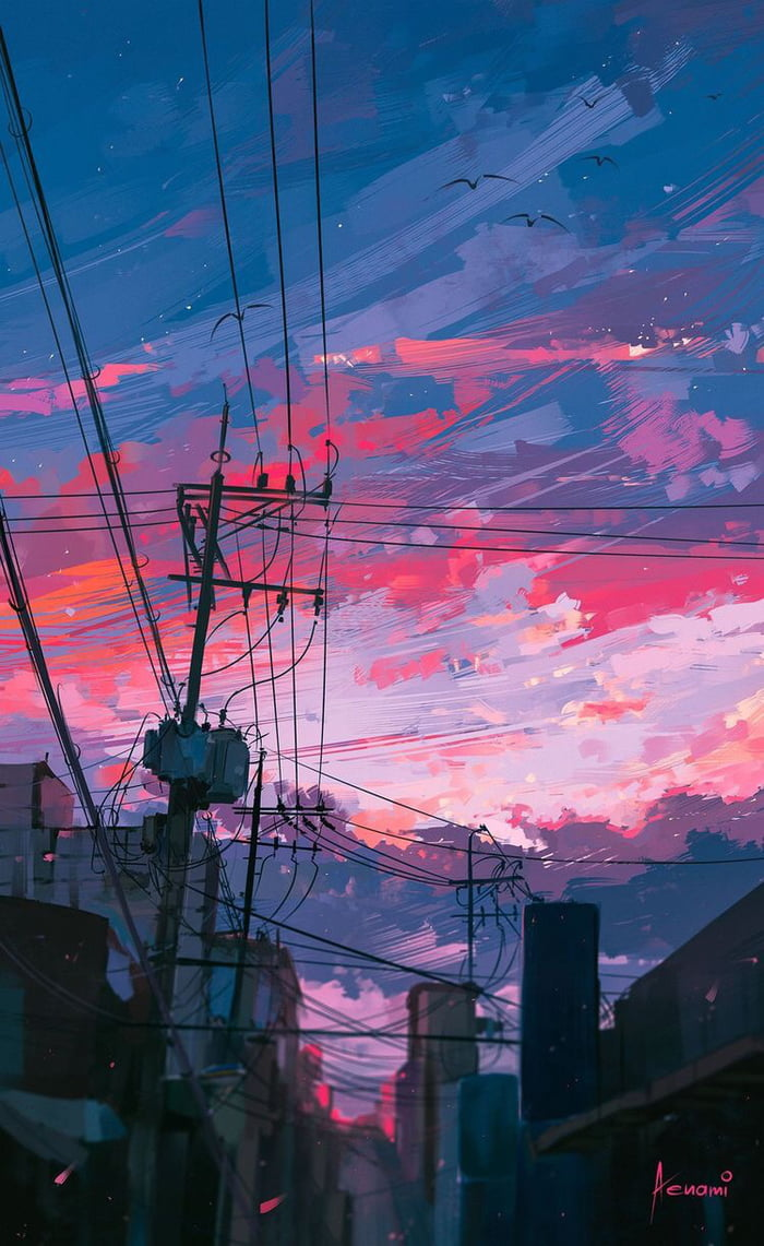 Current Wallpaper Reminds Me A Lot Of Kimi No Na Wa Your