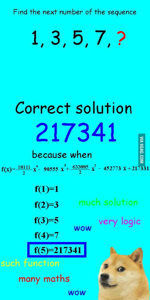 Math problems be like