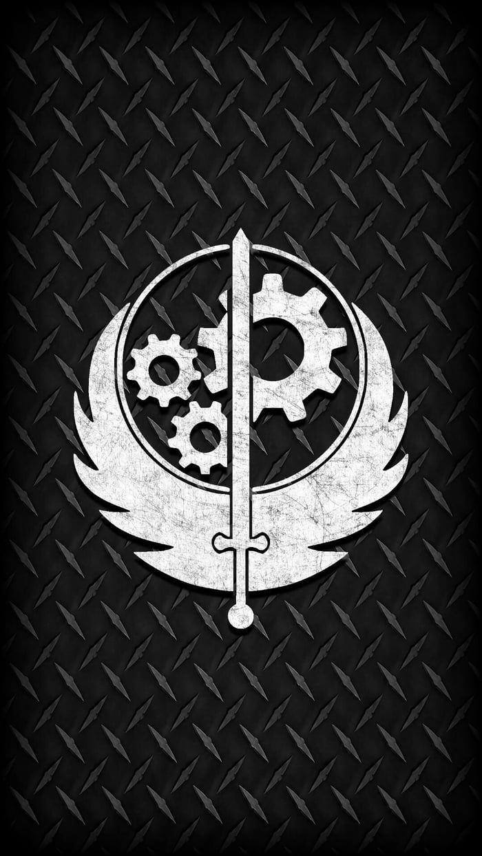 Awesome Brotherhood Of Steel Phone Wallpaper I Made Fizz