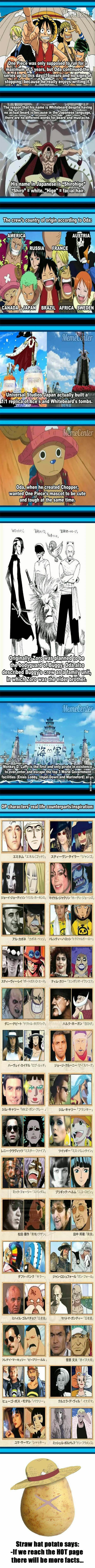 OnePiece facts!