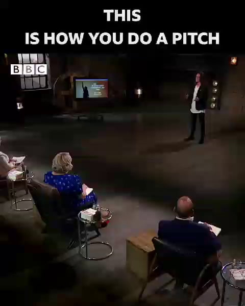 This idea is brilliant, really makes you think and the guy delivered one of the best pitches I've ever heard