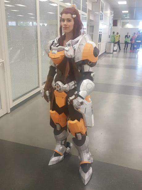 overwatch brigitte cosplay