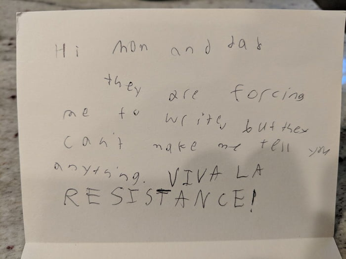 So my daughter sent home the best camp letter ever Should I