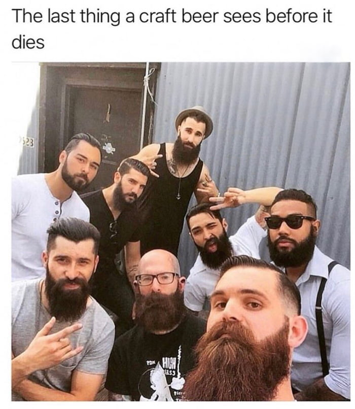 Beards are just makeup for men.