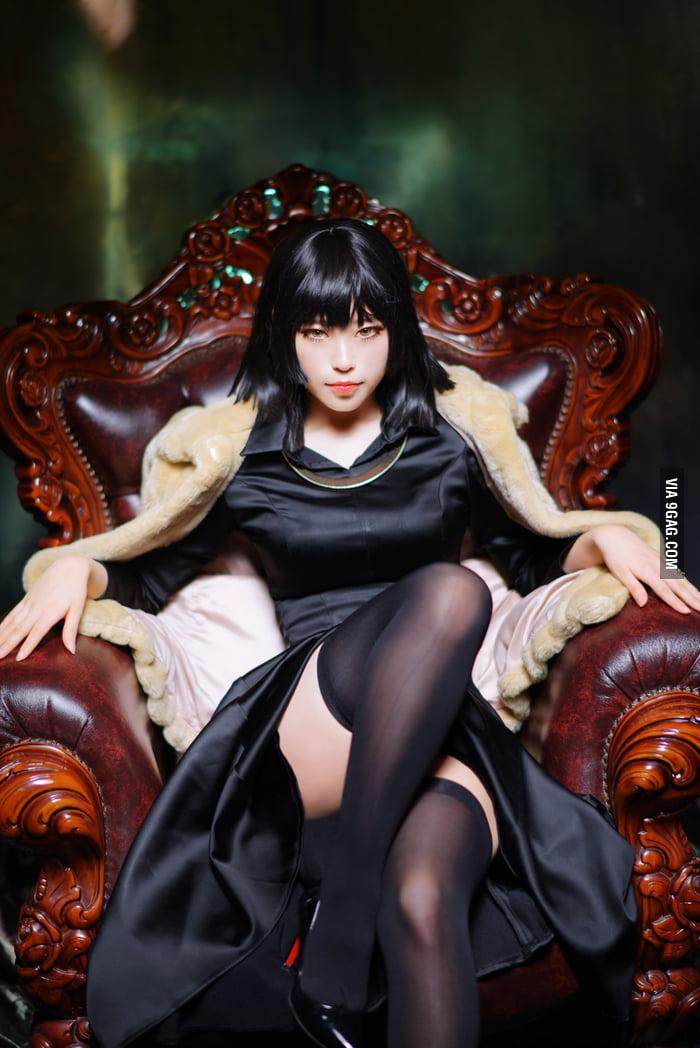 Fubuki Cosplay Tatsumaki S Sister From Onepunchman 9gag