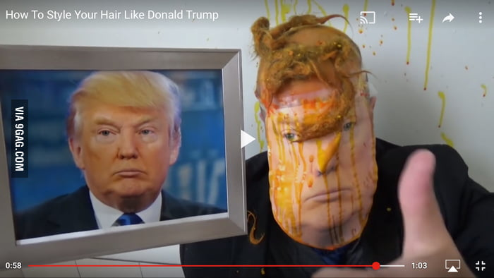 How to basic video how to look like donald trump 9gag how to basic video how to look like donald trump ccuart Image collections