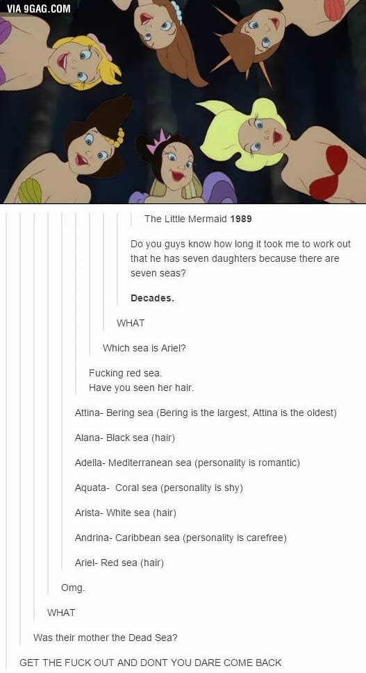 The Little mermaid and the seven seas