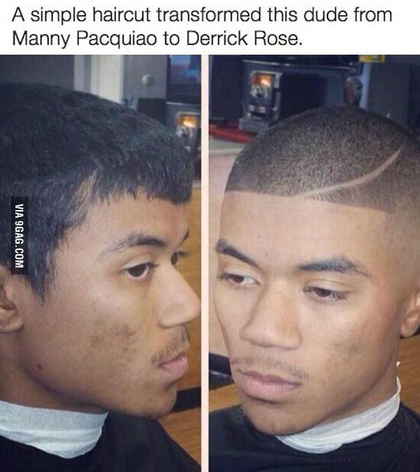 Haircut On Point 9gag