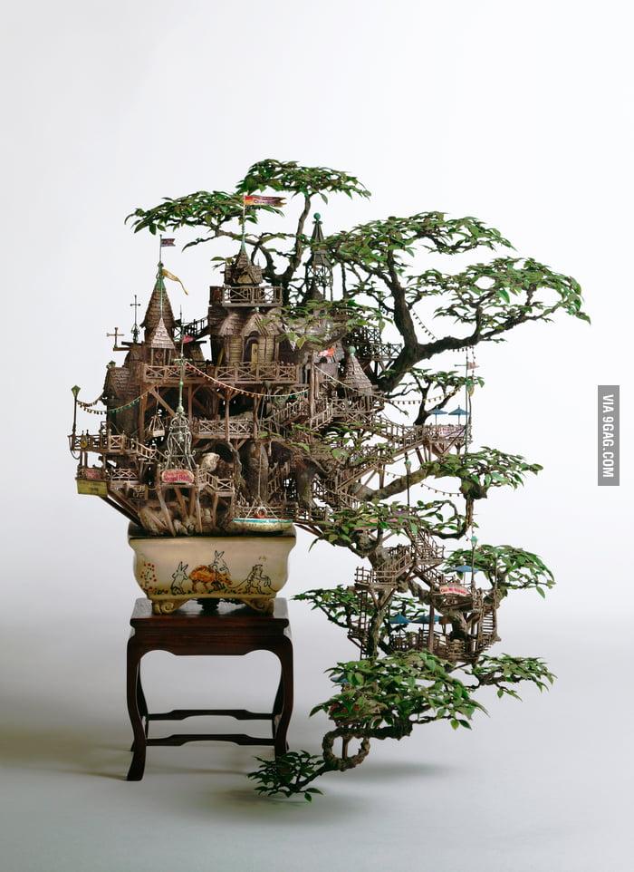 Bonsai Tree House.