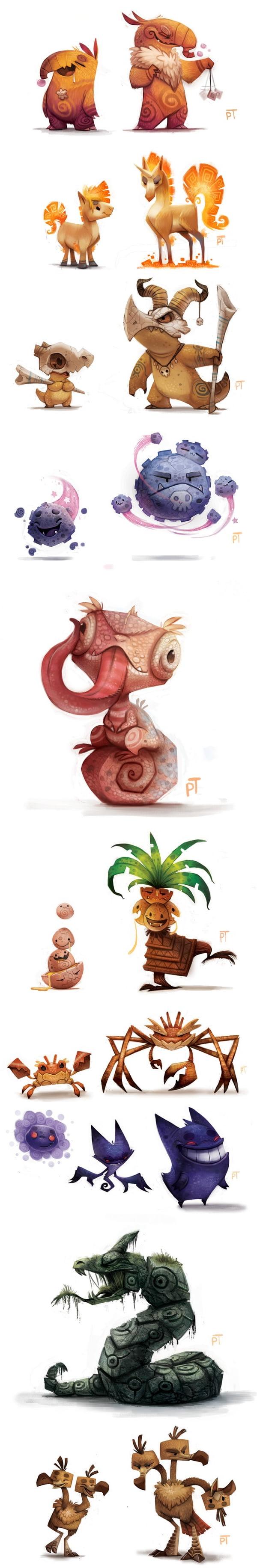 Pokémon according to Piper Thibodeau