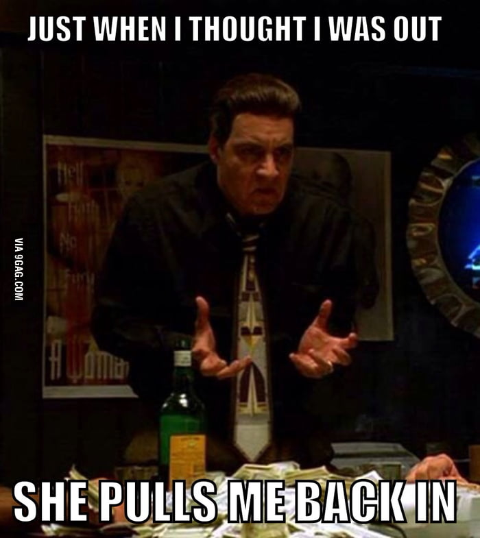 My ex started texting me just as I was getting over her - 9GAG