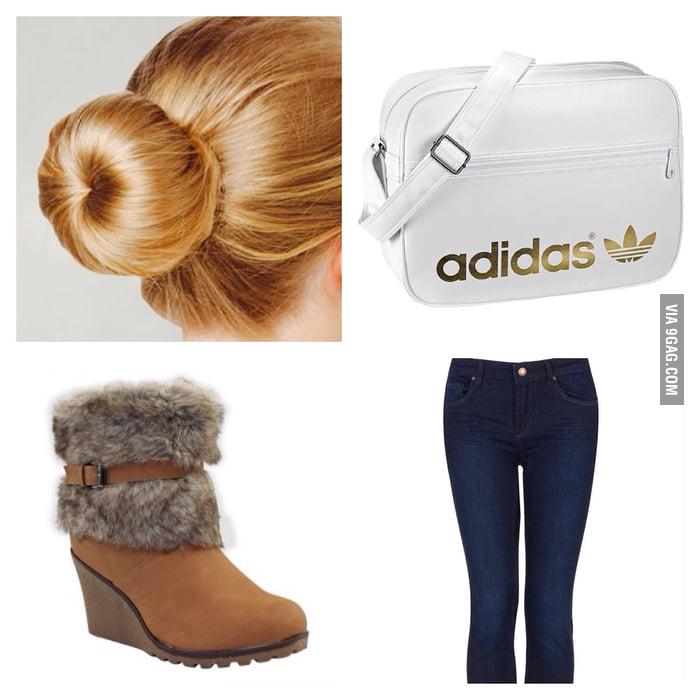 German School Girl