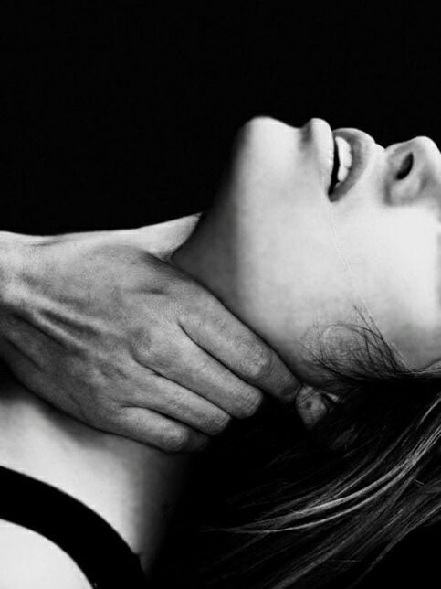 I like being choked