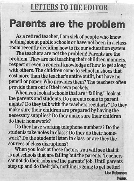 Western parents