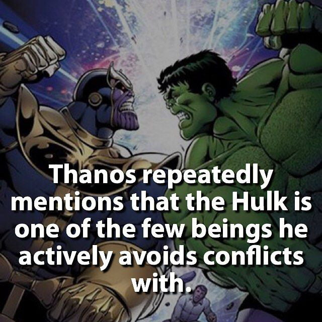 some facts about thanos, preparing for avengers: infinity war - 9gag