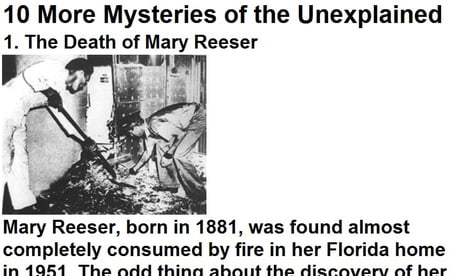10 More Mysteries of the Unexplained Part 1