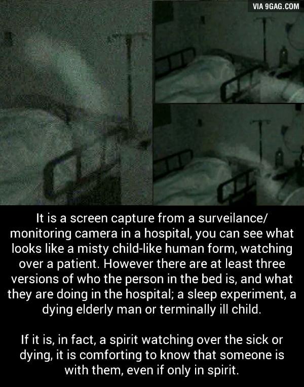 The bedside watcher: Paranormal photos - 9GAG