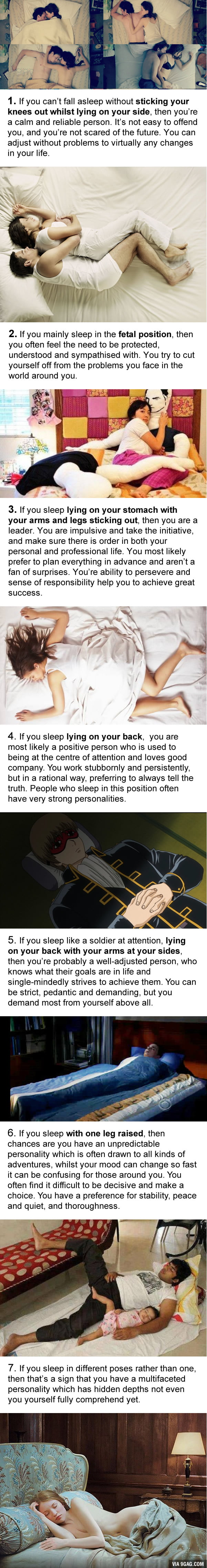 what your sleeping position reveals about your personality 9gag what your sleeping position reveals about your personality