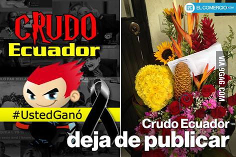 In My Country Ecuador This Political Meme Maker Got These