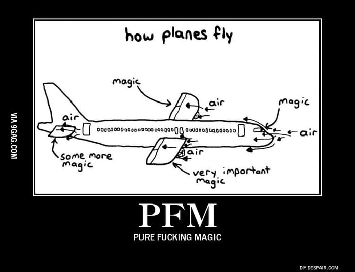 How airplanes fly  - 9GAG