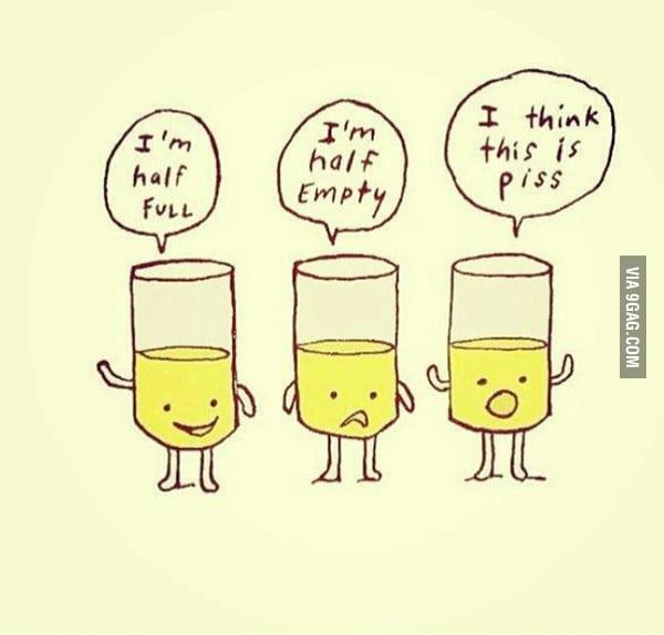 Optimist pessimist realist physicist