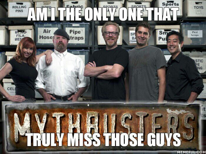 WRP is good but doesn't compete with the masterpice that is Mythbusters