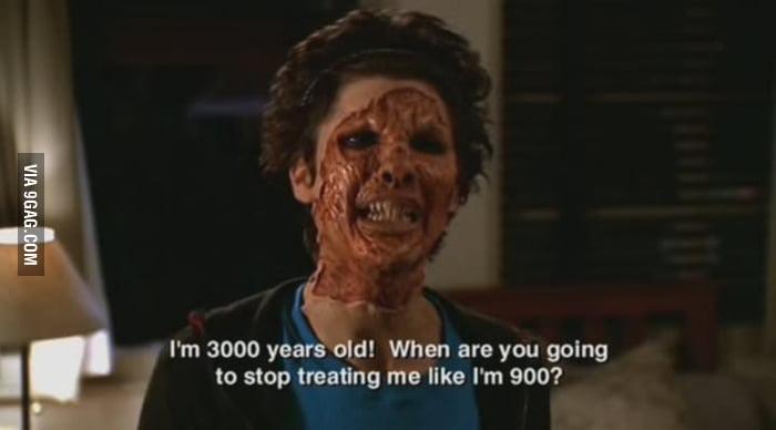 Demon problems.. I miss Buffy.
