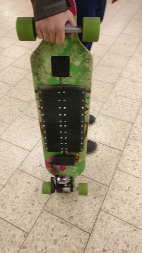 Guy I Saw On The Metro In Hamburg Germany Had Made This Diy