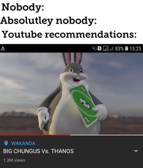 Best 30 Big Chungus Fun On 9gag