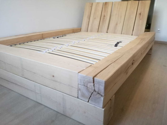 My first oben build bed. - 9GAG