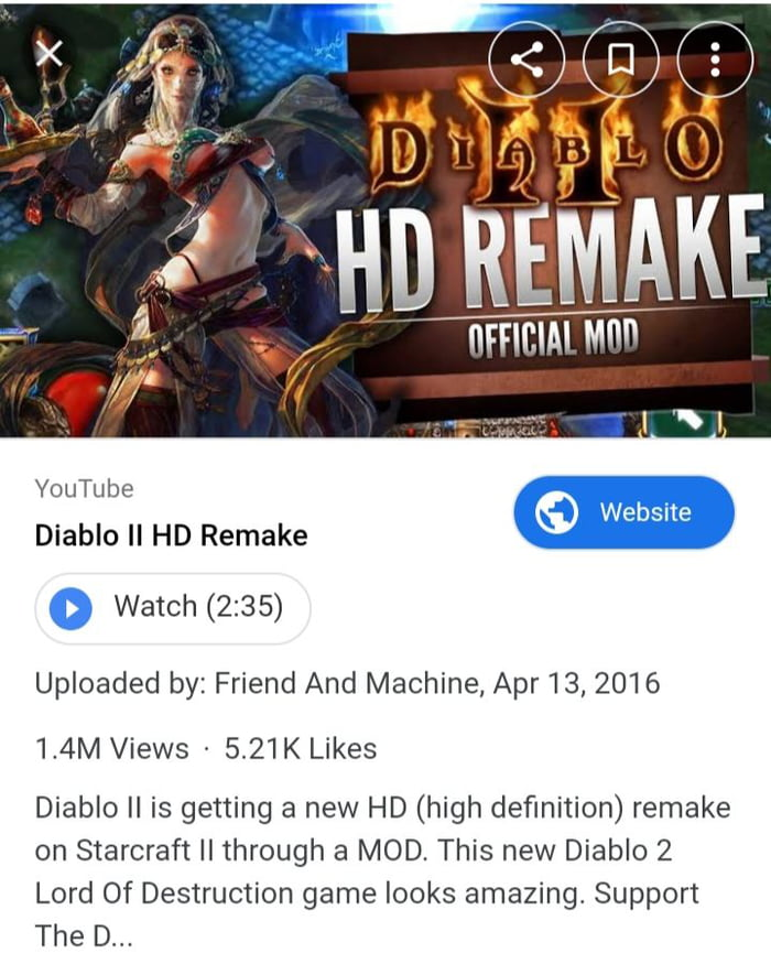 Diablo 2 in HD mod  Where to find this game - 9GAG