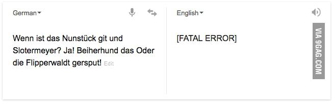 For the Monty Python lovers, Google translate easter egg