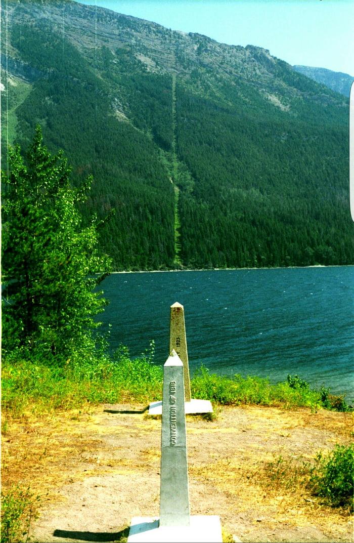 The No Touching Zone Canada Us Border 8 800km 5 500mi 9gag