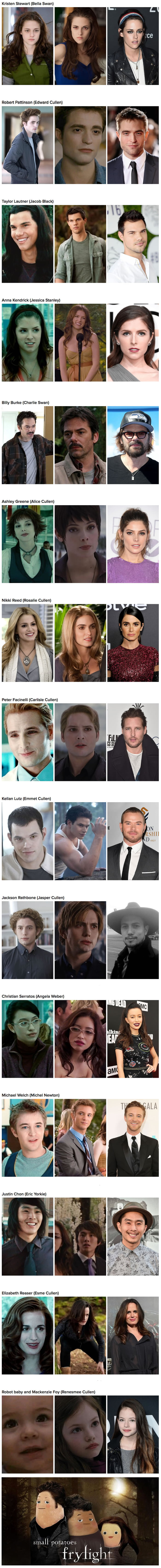 here s what the cast of twilight looks like five years later gag here s what the cast of twilight looks like five years later