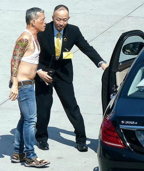 I present to you the king of Thailand