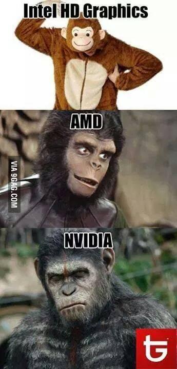 Intel Vs Amd Vs Nvidia 9gag