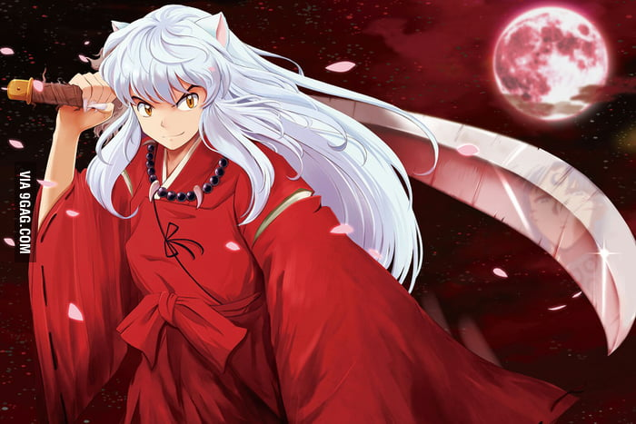 99142048ff22c3 My first crush as a little girl was inuyasha. anyone  - 9GAG