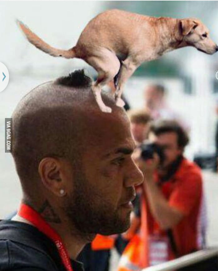 Dani Alves gets new Barcelona haircut, Twitter compares it ... |Dani Alves Haircut